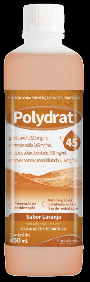 Polydrat 45 Laranja - PharmaScience Indústria Farmacêutica