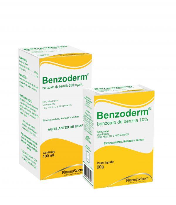 Remédio para piolhos - Benzoderm - PharmaScience