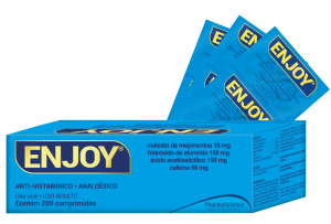 Analgésico e Anti-histamínico - Enjoy - PharmaScience
