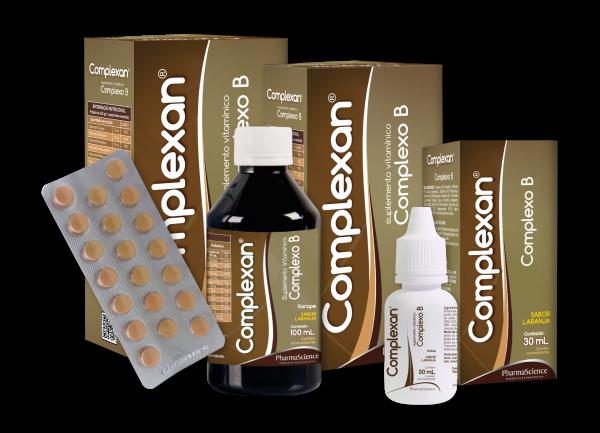 Suplemento de Vitamina B - Complexan - PharmaScience