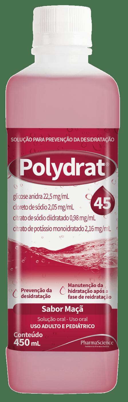 Polydrat 45 Maçã - PharmaScience Indústria Farmacêutica