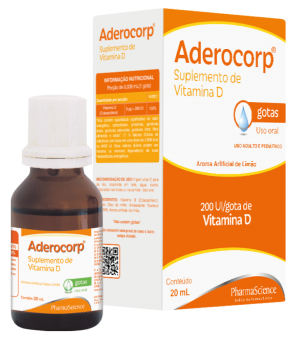 Suplemento de vitamina D - Aderocorp - PharmaScience
